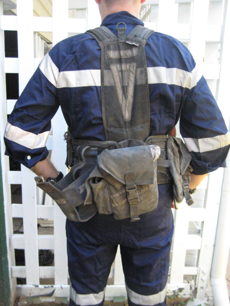 Review Techvest Underground Load Bearing Vest Packs